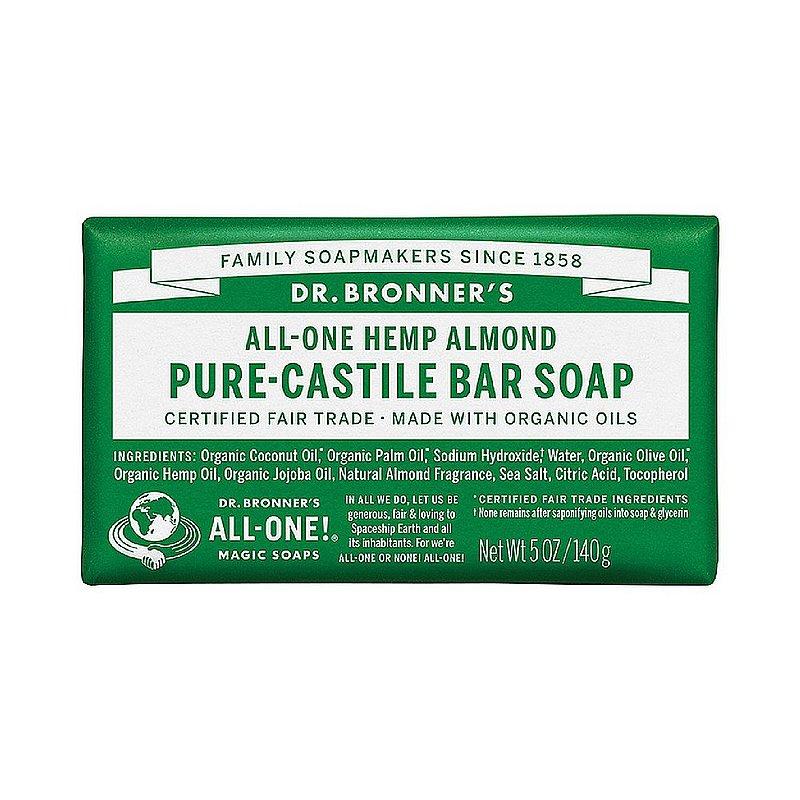 Dr. Bronner's Almond Bar Soap 371531 (Dr. Bronner's)