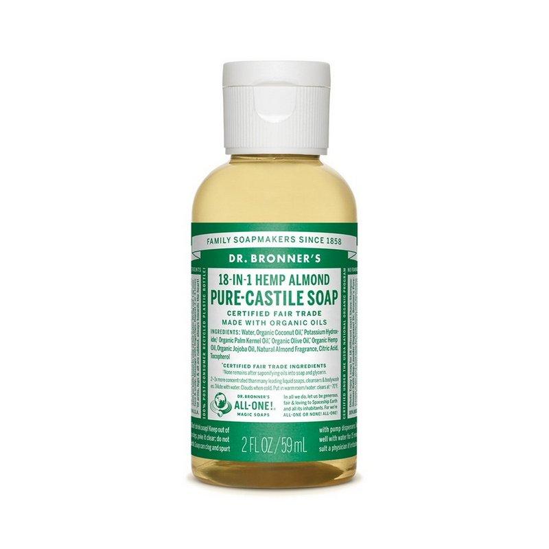 Dr. Bronner's Almond Soap--2 oz 371513 (Dr. Bronner's)
