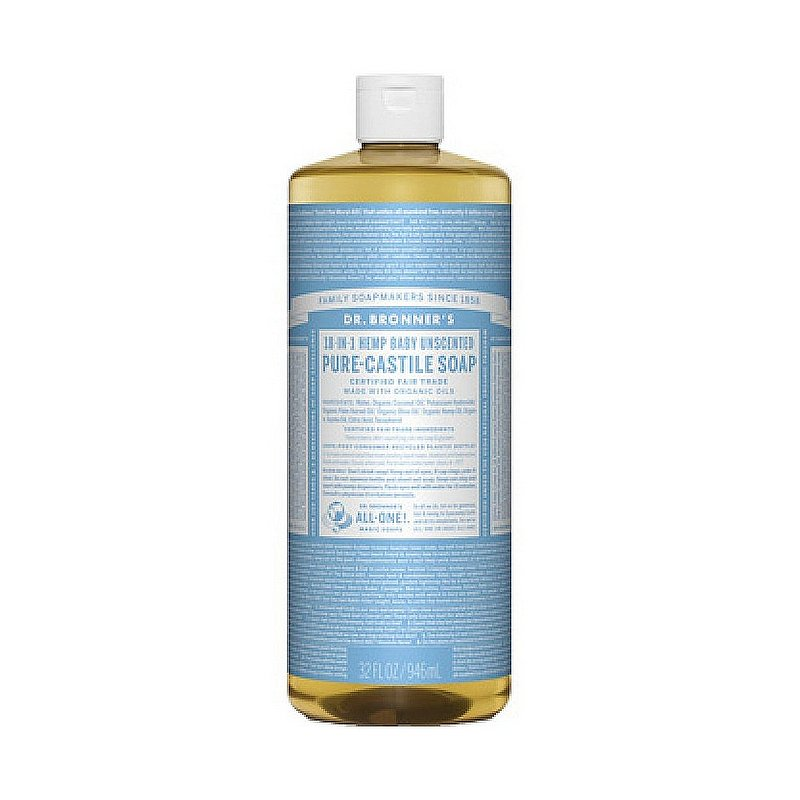 Dr. Bronner's Baby Mild Liquid Soap--32 oz 371590 (Dr. Bronner's)