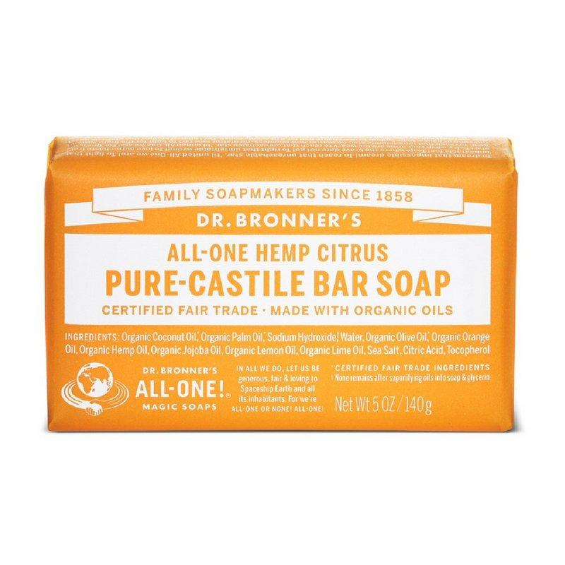 Dr. Bronner's Citrus Bar Soap 371580 (Dr. Bronner's)