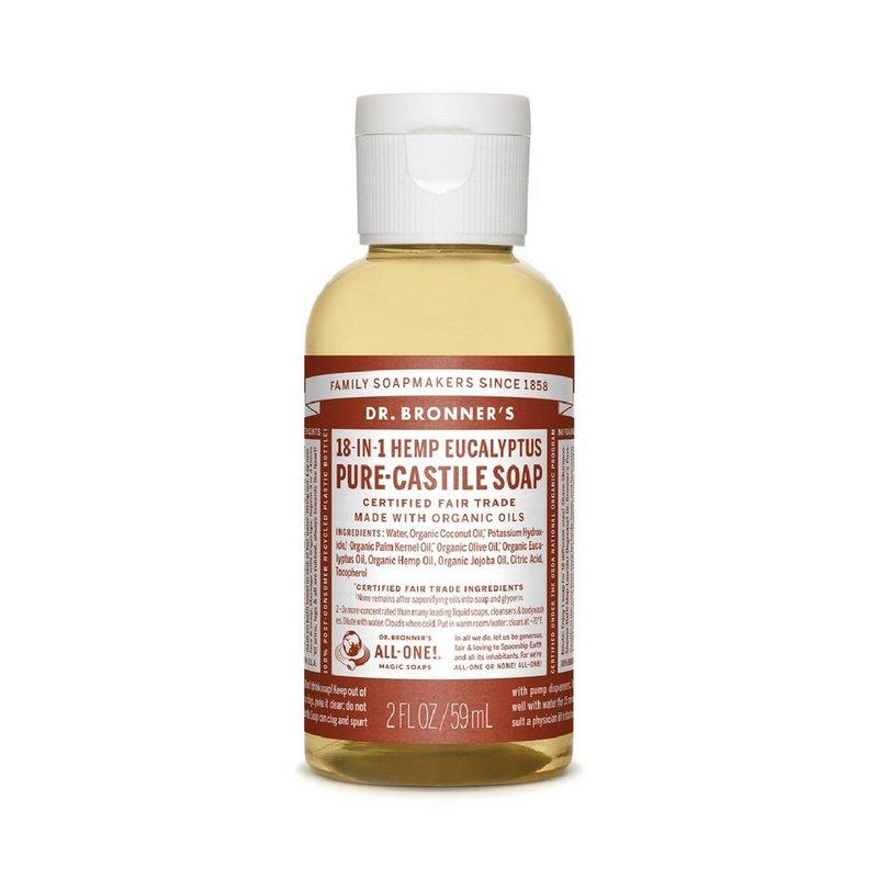 Dr. Bronner's Eucalyptus Soap--2oz 371523 (Dr. Bronner's)