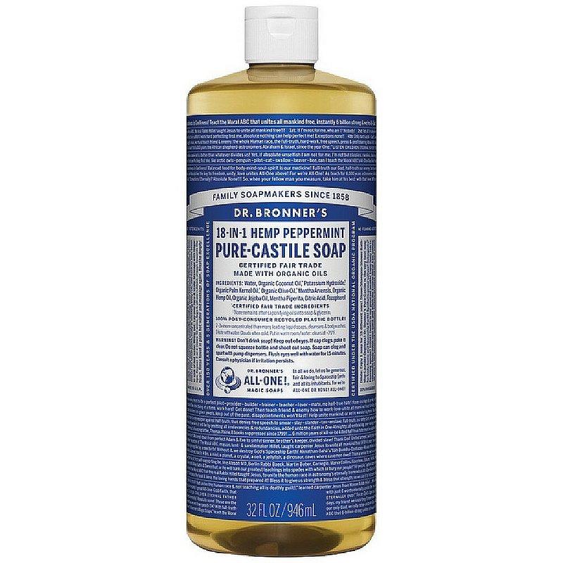 Dr. Bronner's Peppermint Liquid Soad--32 oz 371511 (Dr. Bronner's)