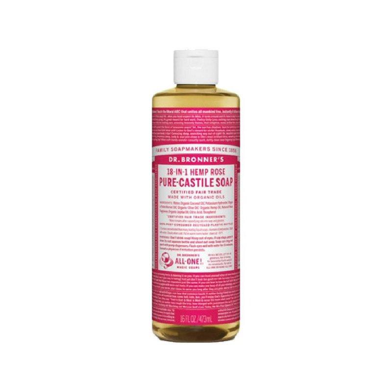 Dr. Bronner's Rose Soap--16oz 371548 (Dr. Bronner's)