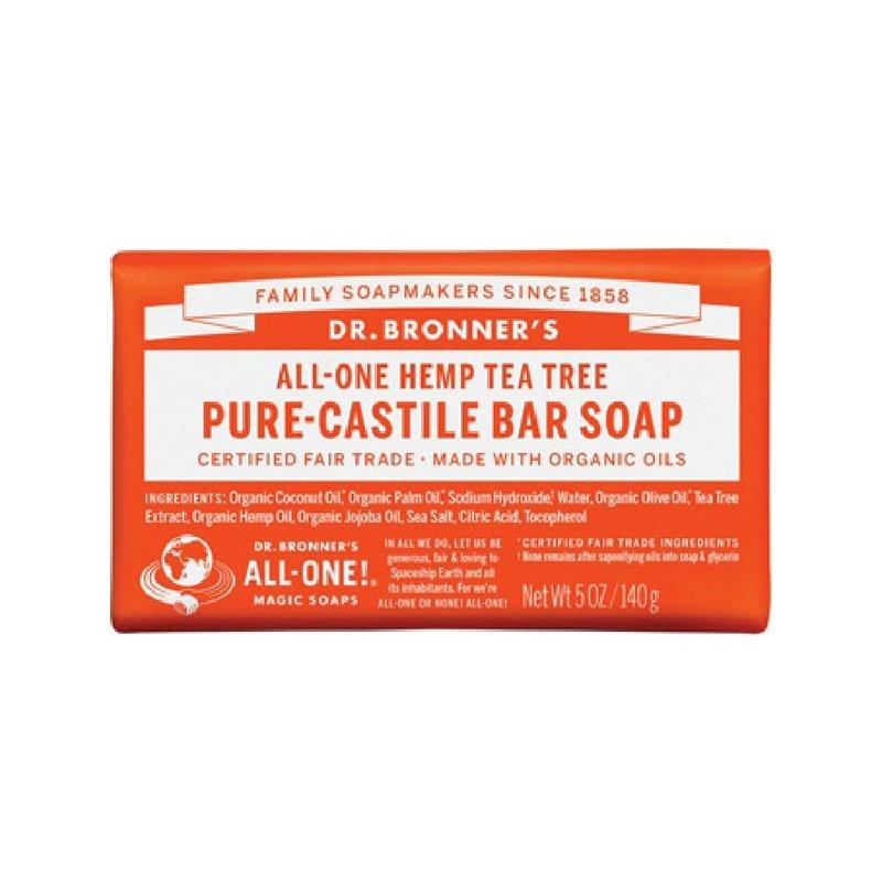 Dr. Bronner's Tea Tree Bar Soap 371585 (Dr. Bronner's)
