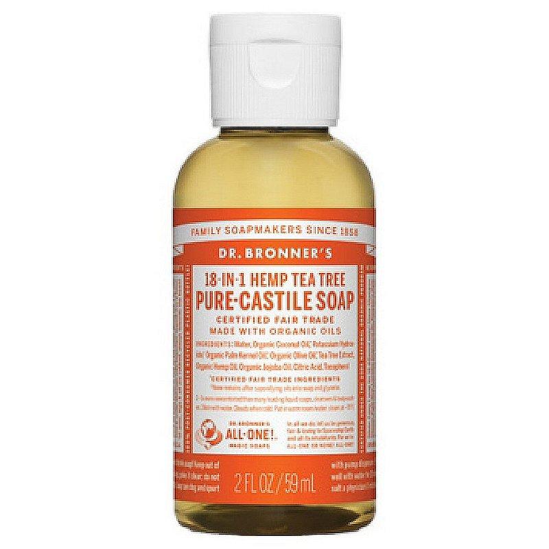 Dr. Bronner's Tea Tree Liquid Soap--2 oz 371560 (Dr. Bronner's)