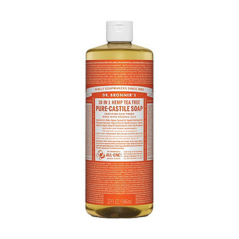 Dr. Bronner's Tea Tree Soap--32 oz 371558 (Dr. Bronner's)