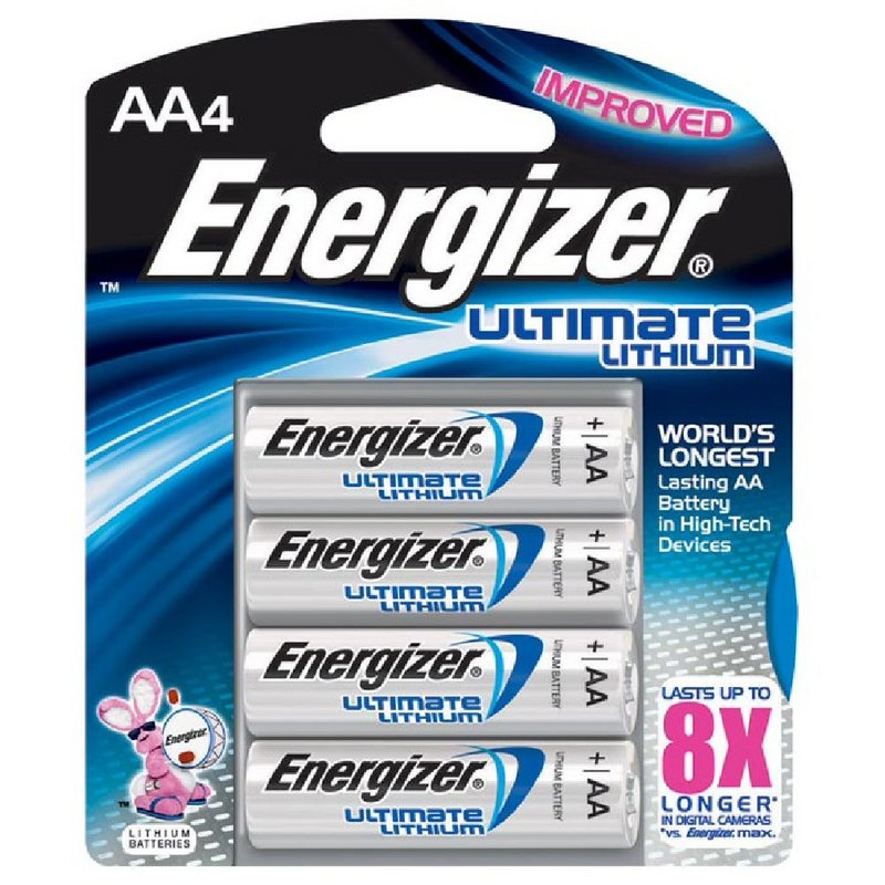Energizer Ultimate Lithium AA Batteries--4pk 353141 (Energizer)