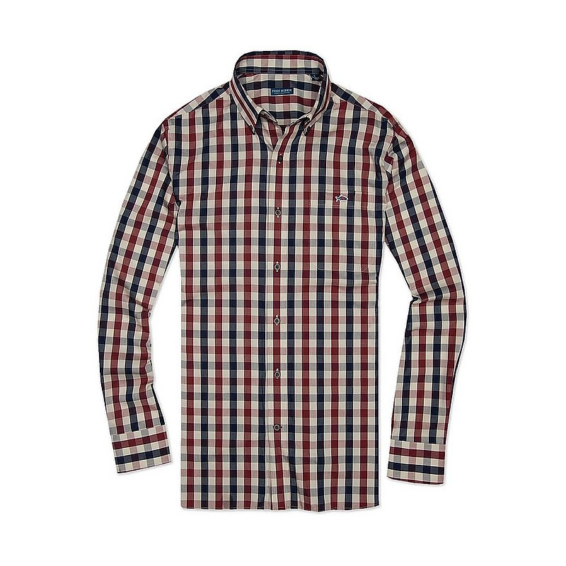 Fish Hippie Men's Brevard Check Shirt FH-SO1800 (Fish Hippie)