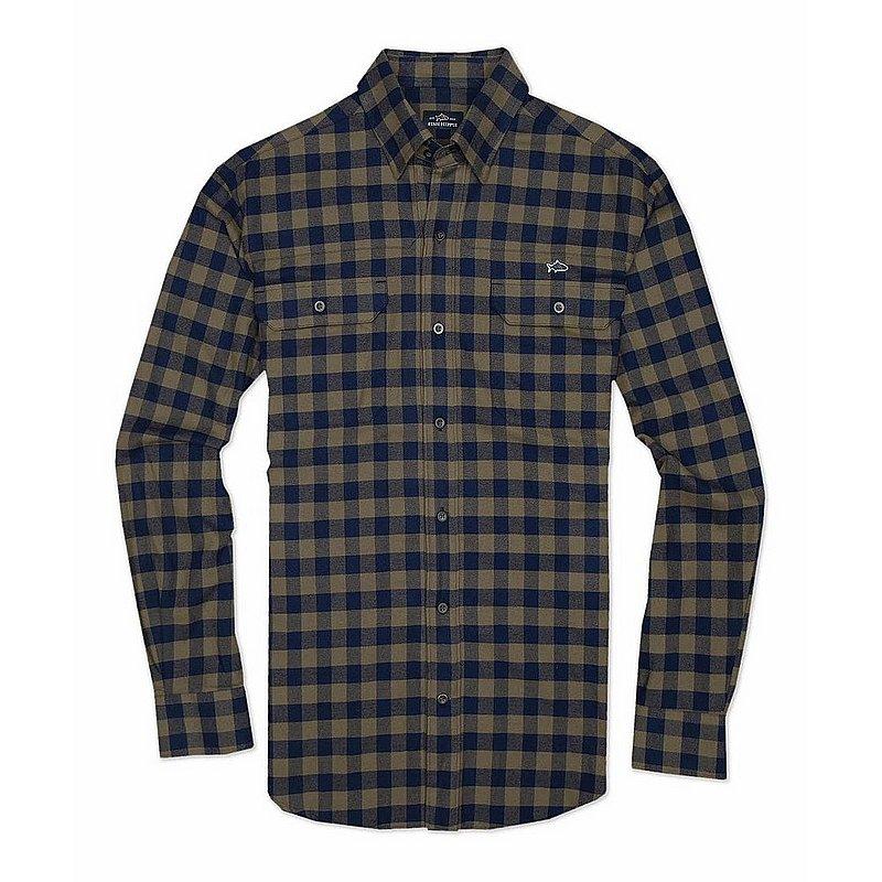 Fish Hippie Men's Woodbreak Flannel Shirt FH-F1062 (Fish Hippie)