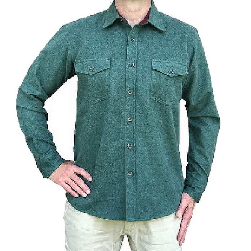 Flyshacker Clothing Co. Men's Heathered Chamois Shirt SH125F (Flyshacker Clothing Co.)