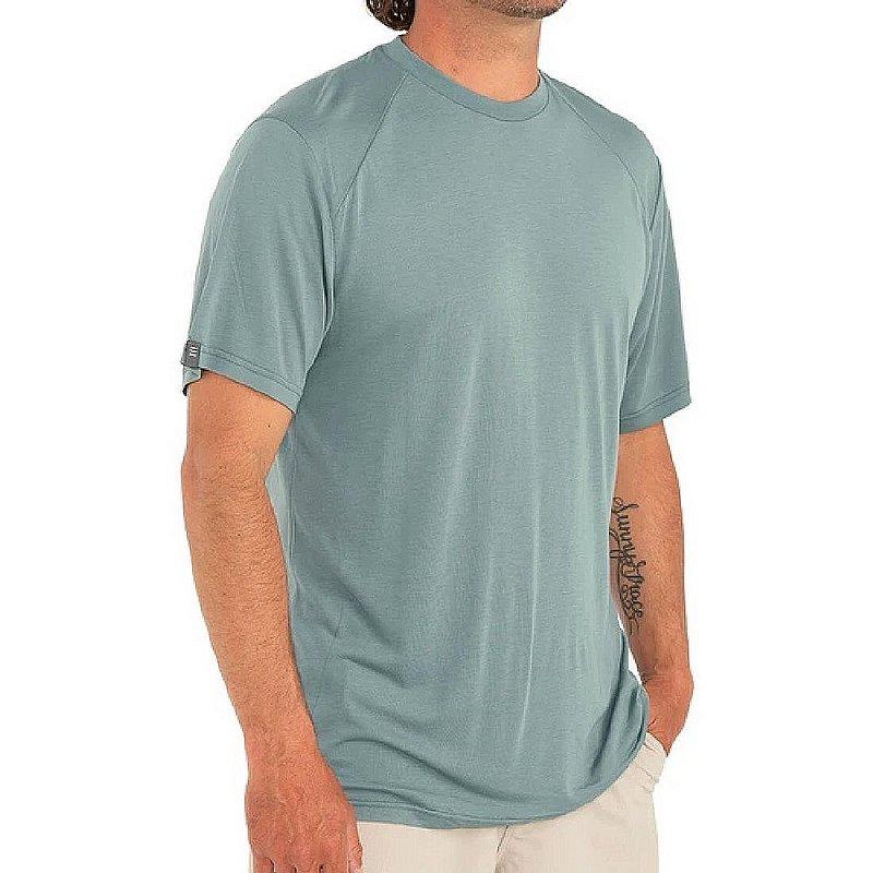 Free Fly Men's Bamboo Drifter Tee Shirt LWSS114 (Free Fly)