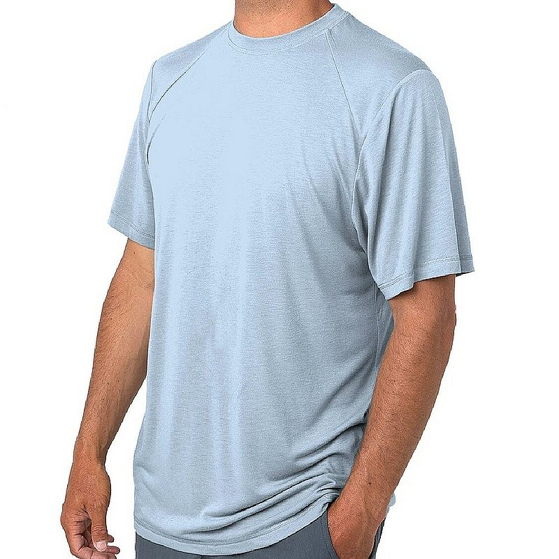 Free Fly Men's Bamboo Lightweight Drifter Tee Shirt LWSS (Free Fly)