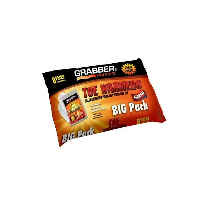 Grabber / Mycoal Toe Warmers--8 Pack TWES8 (Grabber / Mycoal)