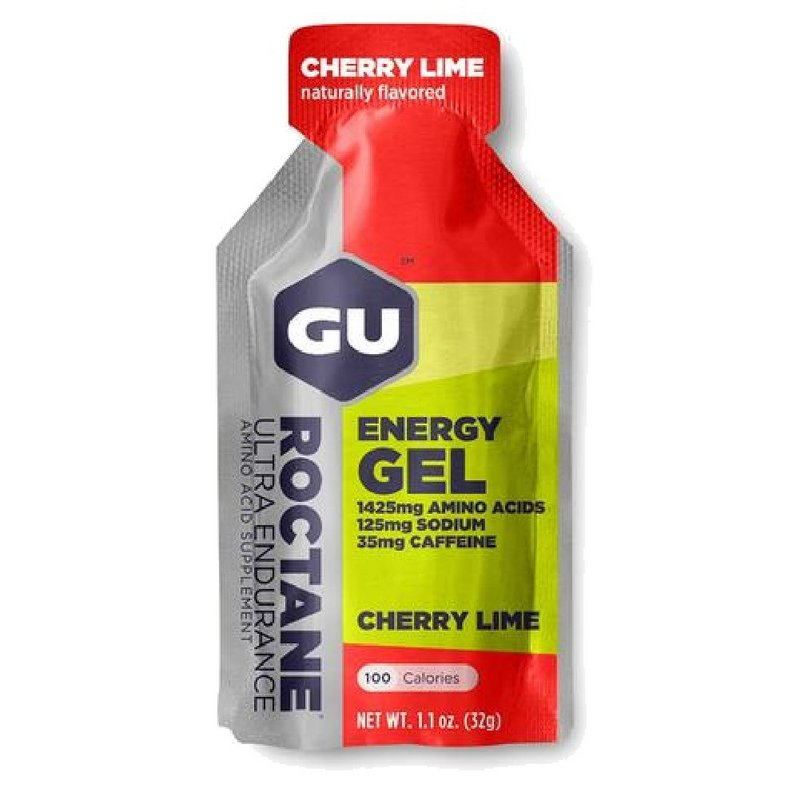 Gu Cherry Lime Roctane Energy Gel 123068 (Gu)