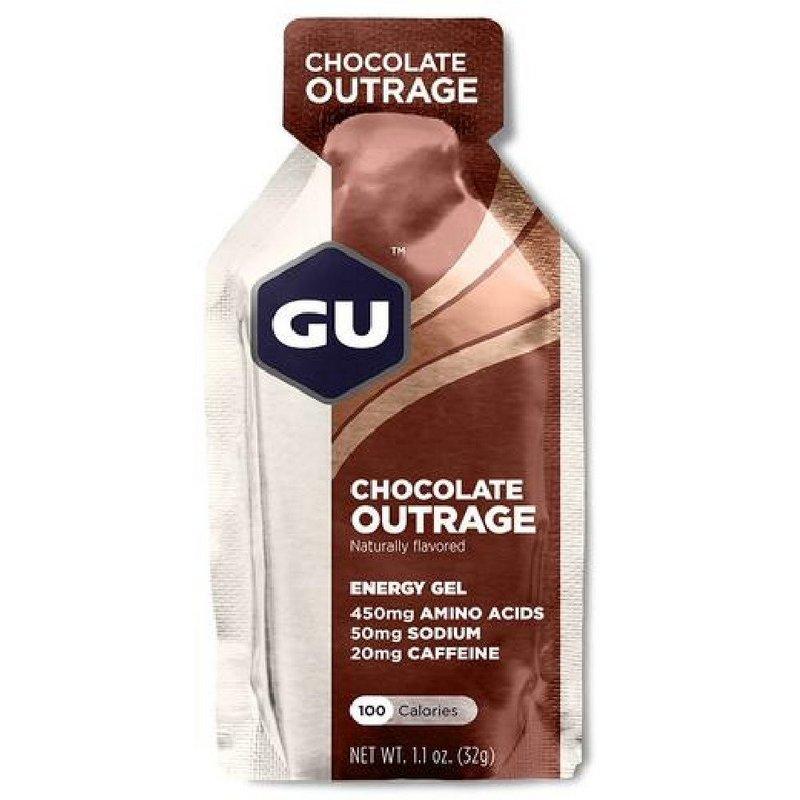 Gu Chocolate Outrage Energy Gel 123046 (Gu)
