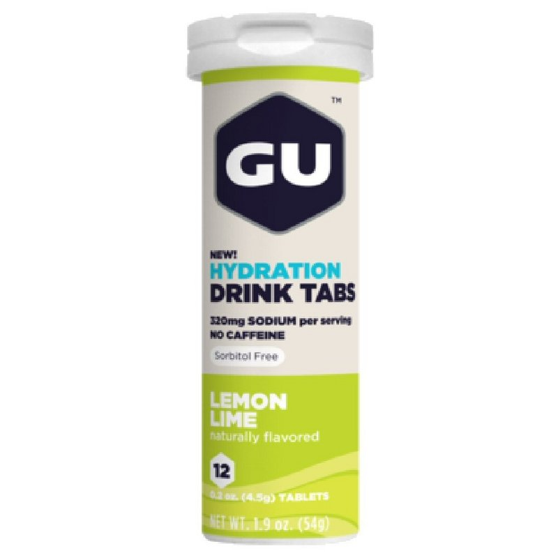 Gu Lemon Lime Hydration Tabs 123139 (Gu)