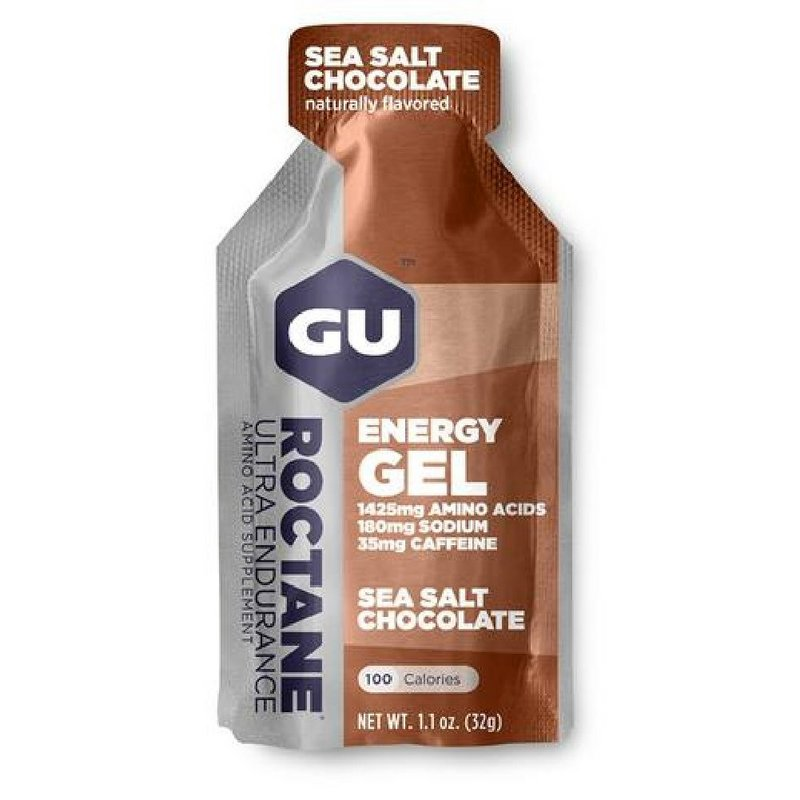 Gu Sea Salt Chocolate Roctane Energy Gel 123904 (Gu)