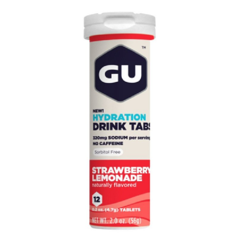 Gu Strawberry Lemonade Hydration Tabs 123143 (Gu)