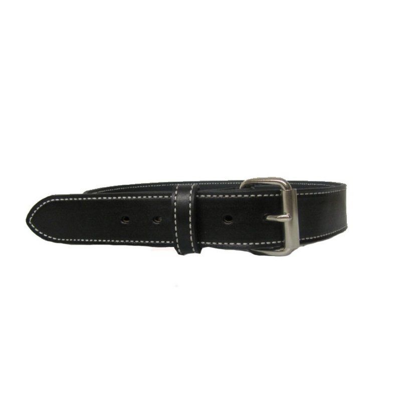 H. Miller & Sons Black Leather Belt 805 (H. Miller & Sons)