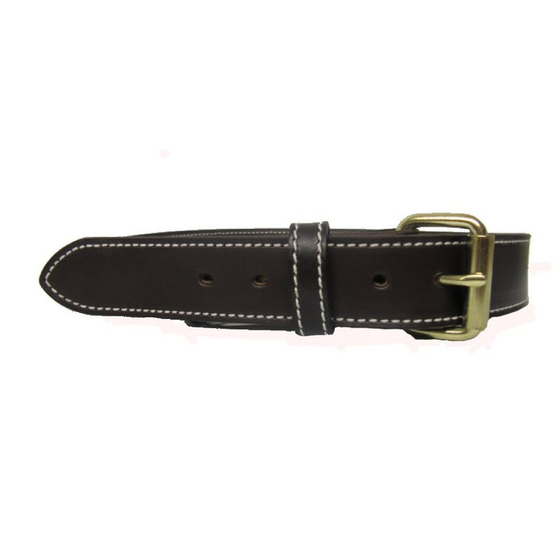 H. Miller & Sons Brown Leather Belt S-DBBROWN (H. Miller & Sons)