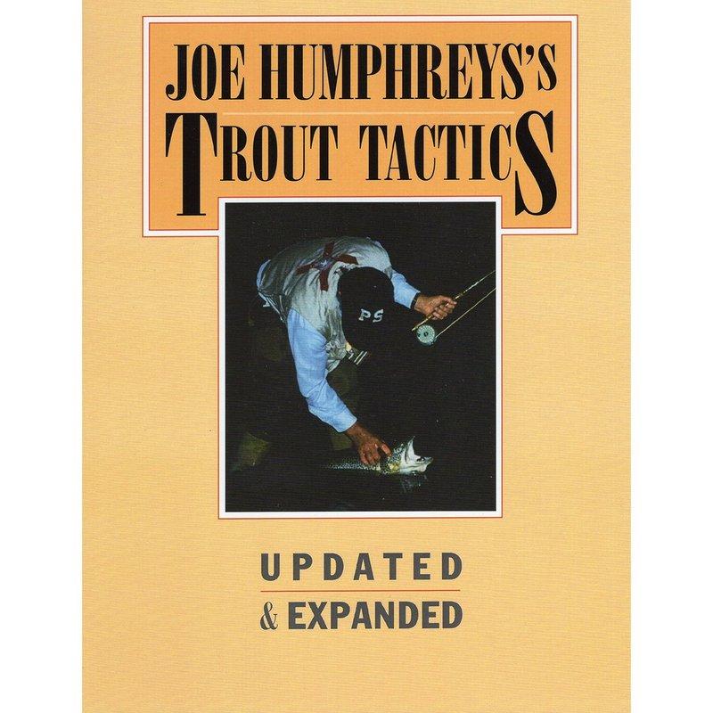 Joe Humphreys Autographed Trout Tactics Book TROUTTACTICS (Joe Humphreys)