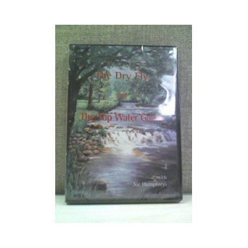 Joe Humphreys Dry Fly & Top Water Game Dvd By Joe Humphreys JOEHDRYFLY (Joe Humphreys)