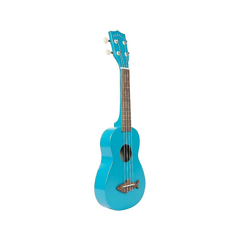 Kala Brand Music Co. Mako Blue Soprano Shark Ukulele MK-SS-BLU (Kala Brand Music Co.)