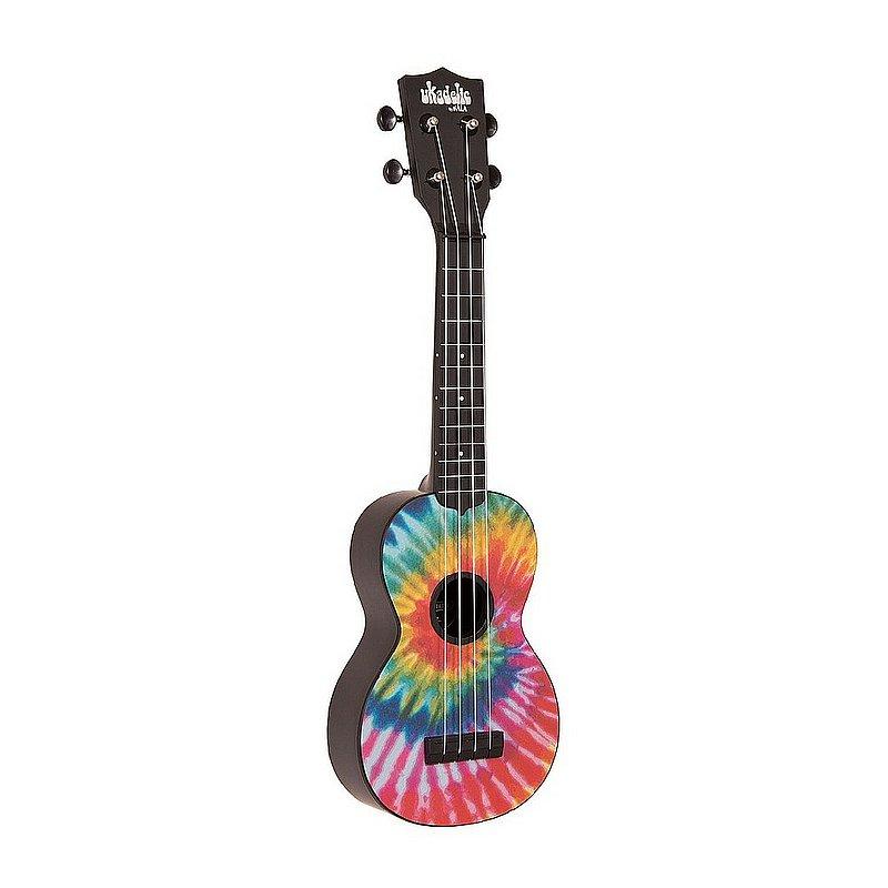 Kala Brand Music Co. Tie Dye Soprano Ukadelic Ukulele KA-SU-TIEDYE (Kala Brand Music Co.)