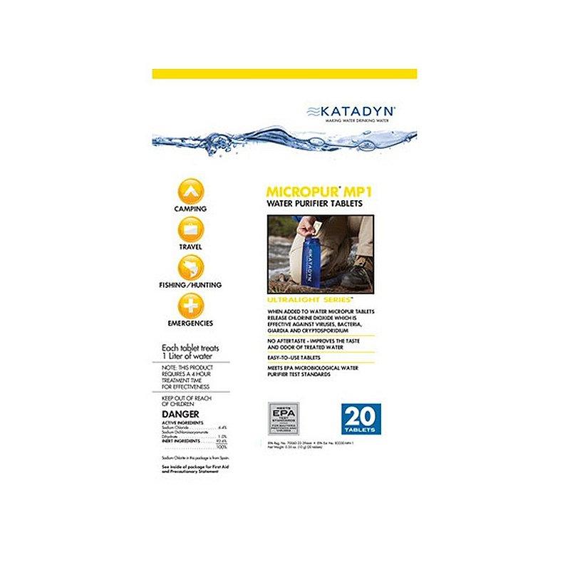 Katadyn Micropur Tablets 20-pack 8014996 (Katadyn)