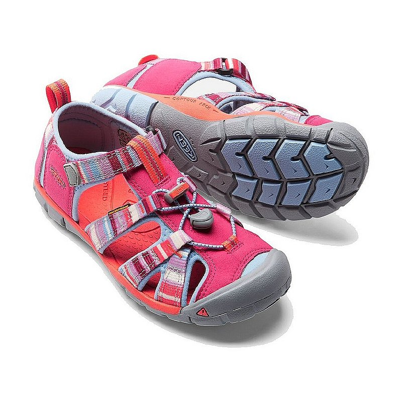 Keen Footwear Big Kids' SEACAMP II CNX Shoes 1016435 (Keen Footwear)