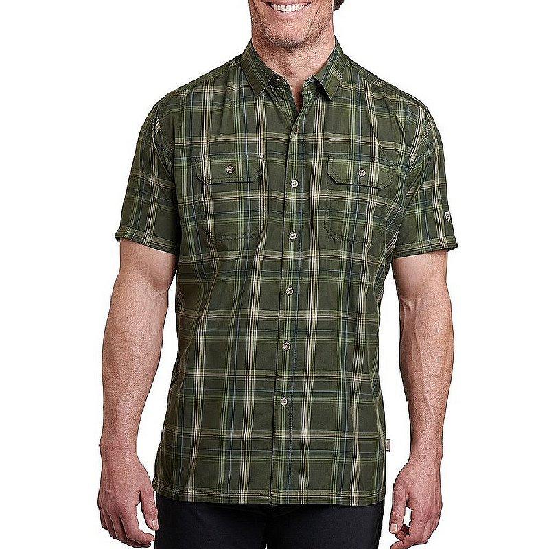 Men's Response Button Up Plaid Shirt
