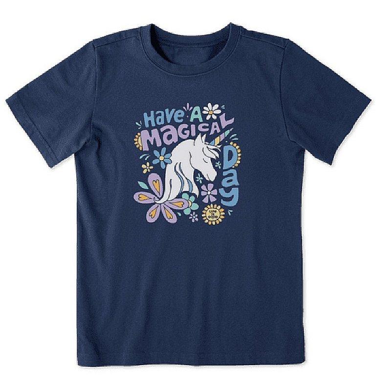 Life is good Kids' Kids Magical Day Unicorn Crusher Tee Shirt 75902 (Life is good)