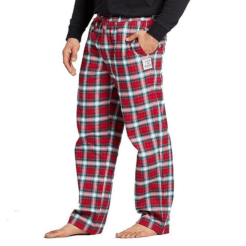 Life is good Men's Holiday Plaid Classic Sleep Pants 71966 (Life is good)