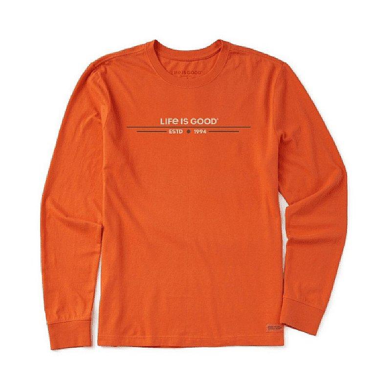 Life is good Men's In Tents 94 Crusher-Lite Long Sleeve Tee Shirt 71744 (Life is good)