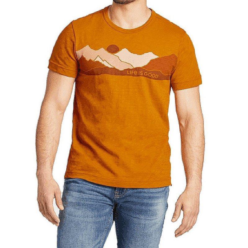 Life is good Men's Life Isn't Perfect Mountains LIG Textured Slub Shirt 71797 (Life is good)