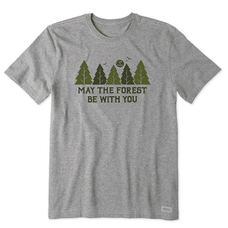 Life is good Men's May The Forest Be With You Tee Shirt 94239 (Life is good)