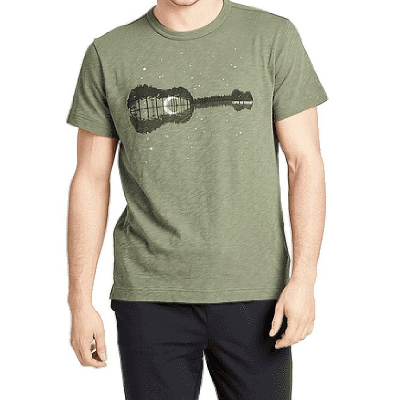 Life is good Men's Natural Rhythym Textured Slub Tee Shirt 71794 (Life is good)
