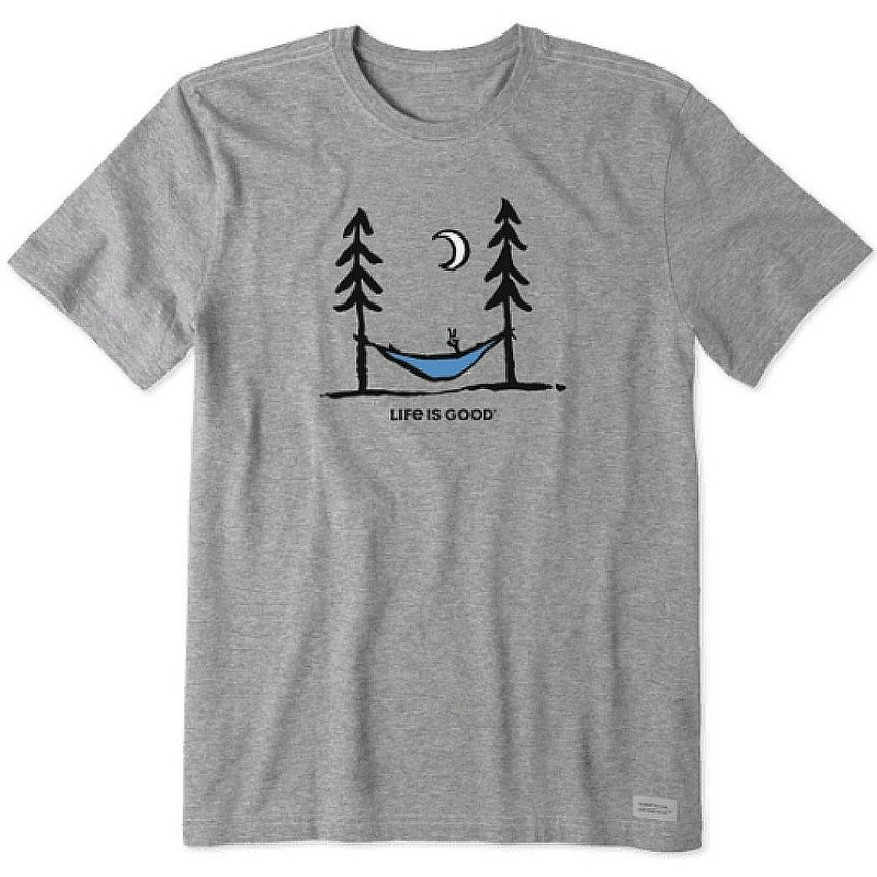 Life is good Men's Peace. Out. Crusher Tee Shirt 65533 (Life is good)