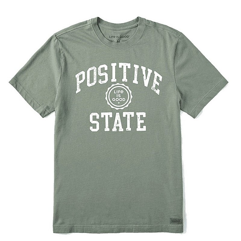 Life is good Men's Positive State Crusher Tee Shirt 71689 (Life is good)