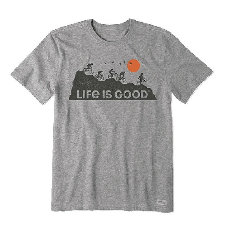 Life is good Men's Ride on and on Crusher Lite Tee Shirt 71764 (Life is good)