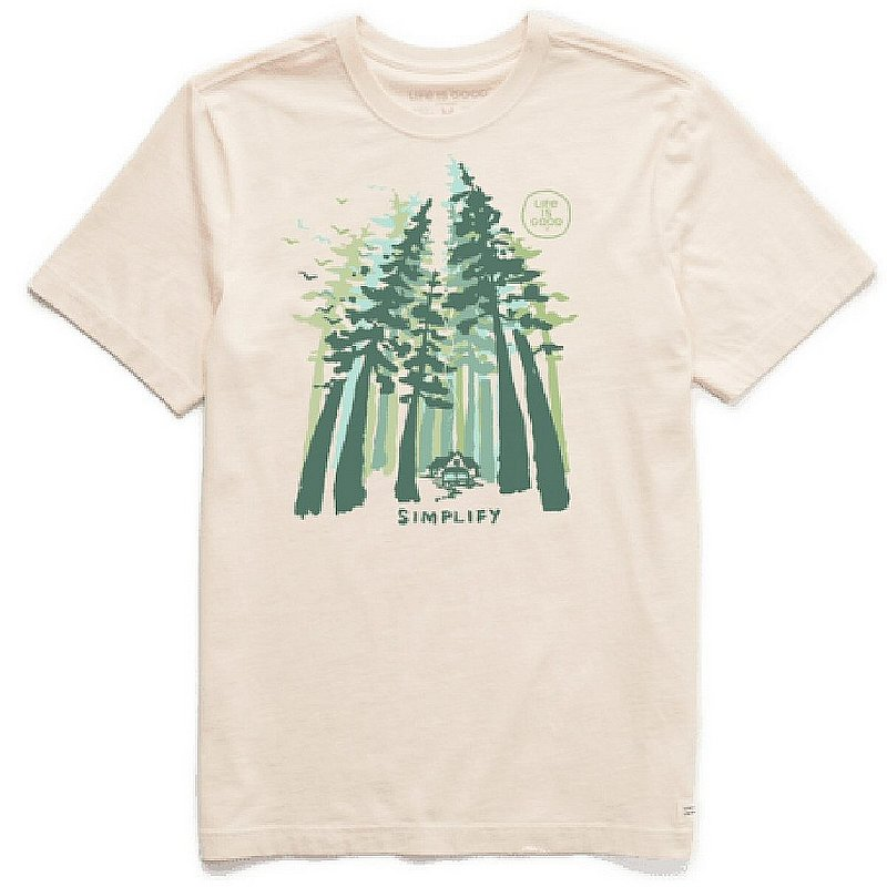 Life is good Men's Simplify Forest Short Sleeve Tee Shirt 94233 (Life is good)