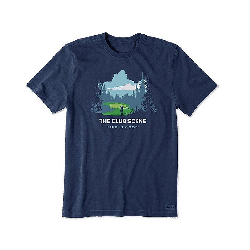 Life is good Men's The Club Scene Landscape Crusher Tee Shirt 76434 (Life is good)