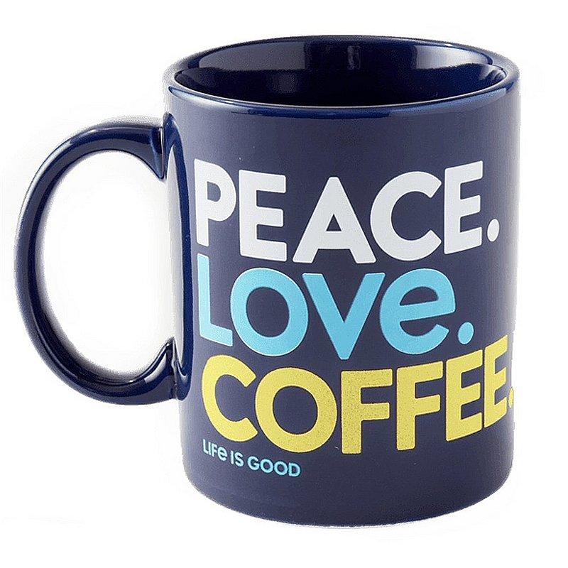 Life is good Peace Love Coffee Jake's Mug 68957 (Life is good)