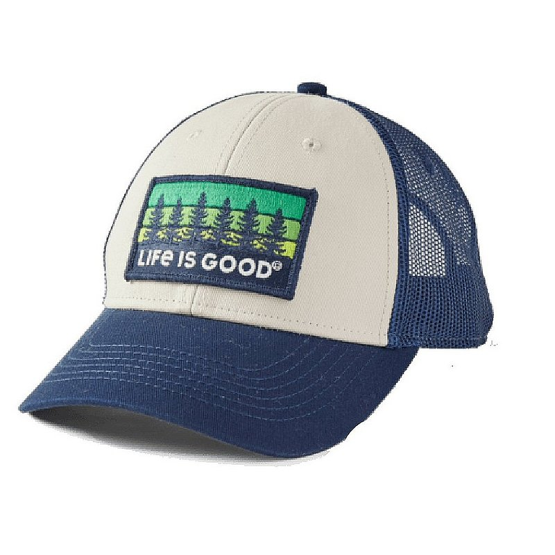 Life is good Tree Patch Hard Mesh Cap 71787 (Life is good)