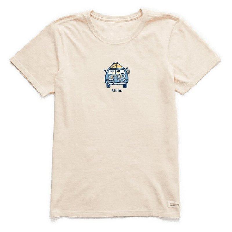 Life is good Women's All In Van Vintage Crusher Tee Shirt 68604 (Life is good)