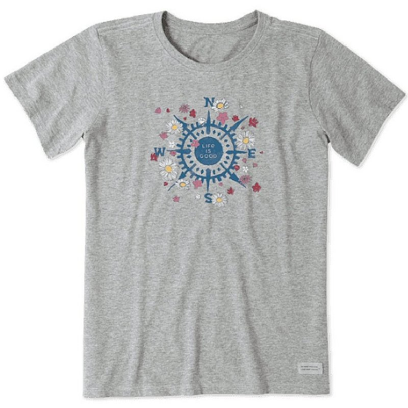 Life is good Women's Beauty In All Directions Crusher Tee Shirt 67681 (Life is good)