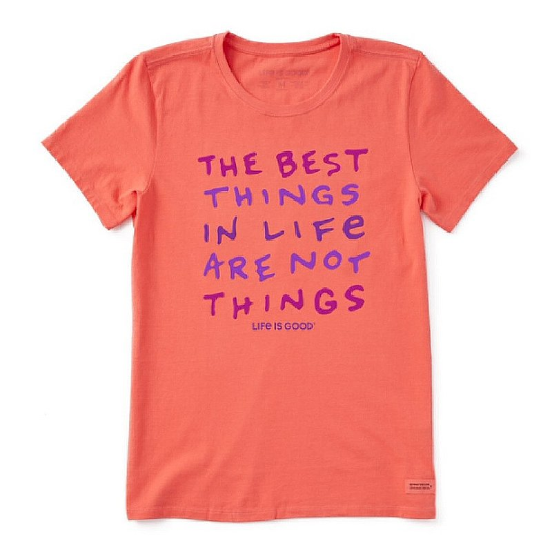 Life is good Women's Best Things in Life Crusher Tee Shirt 68532 (Life is good)