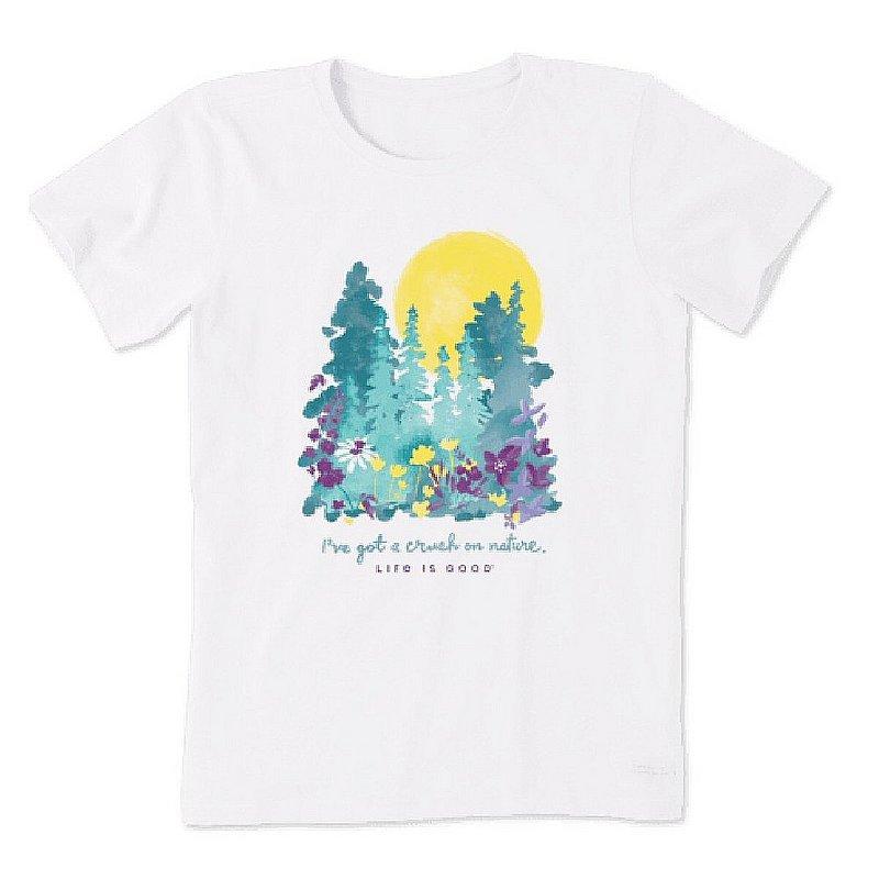 Life is good Women's Crush on Nature Wildflowers Crusher Tee Shirt 71931 (Life is good)
