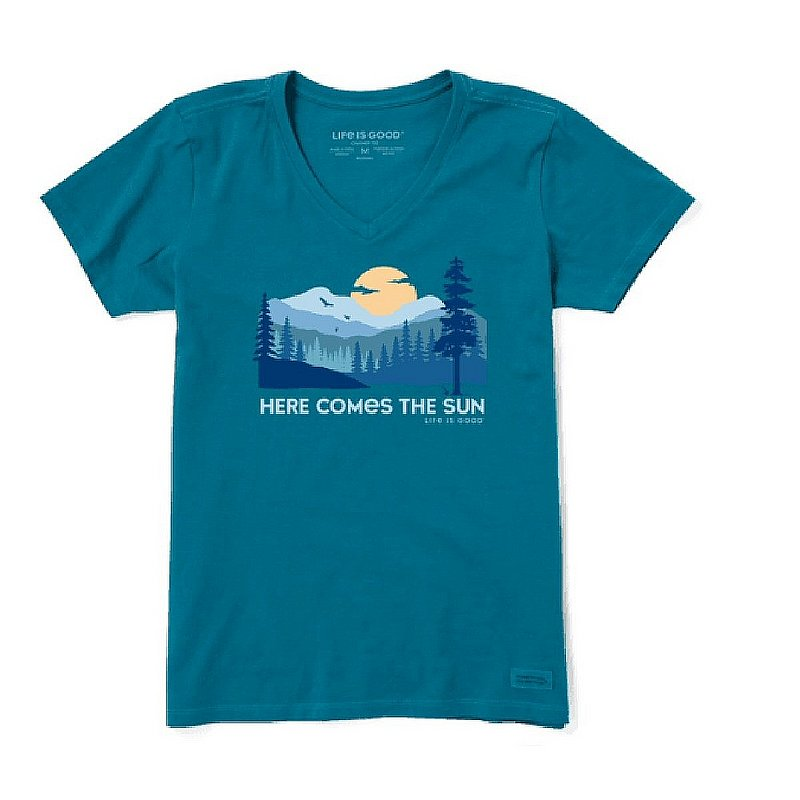 Women's Here Comes the Sun Evergreens Crusher Lite Tee Shirts