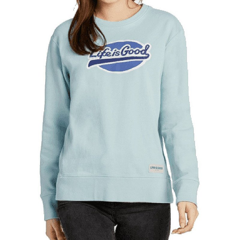 Life is good Women's LIG Ballyard Simply True Fleece Crew Sweatshirt 66157 (Life is good)